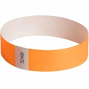 High Quality Tyvek Disposable RFID Wristbands