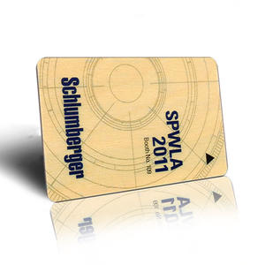 High quality wooden rfid card exporter