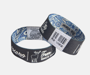 Professional rewritable silicone rfid wristband for sale
