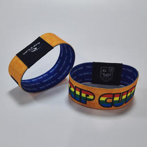 China printing waterproof silicone rfid wristbands manufacturer