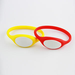 Adjustable Silicone RFID Wristband Manufacturer With ABS Shell