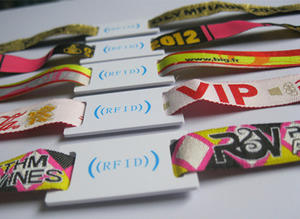 Wholesale PVC Material Active RFID Wristband Manufacturer-Frondent produces 100 million cards per year