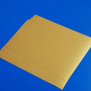 0.3mm Gold A4 Inkjet Printable PVC Plastic Sheet