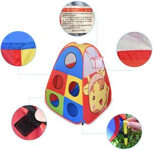 Folding Adventure Game Tent Children Kids Pop Up Play House Indoor Outdoor Play Tent