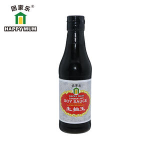 Jolionfoods Happy Mum Brand Traditional Chinese Natural Brewed Light Soy Sauce