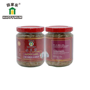 230g Crushed Garlic Oriental Cooking Sauces