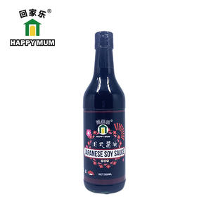 China 500ml Glass bottle Japanese Soy Sauce Manufacturer | Jolion Foods