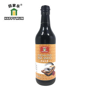 500ml Healthy organic low sodium soy sauce Manufacturer | Jolion Foods