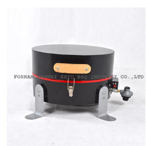 OEM Gas Cooker With Grill Factory-KY1838R with ISO90010 Certification