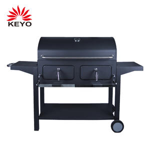 OEM Pedestal BBQ Grills Factory-KY4524A with ISO90010 Certification