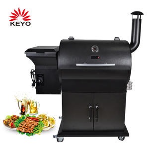 OEM Pellet BBQ Grills Suppliers-KY1820B2 with ISO90010 Certification