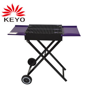 OEM Foldable BBQ Grill Factory-B430 with ISO90010 Certification