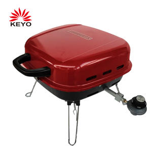 Factory Custom Outdoor Portable Gas Grill With Foldable Legs
