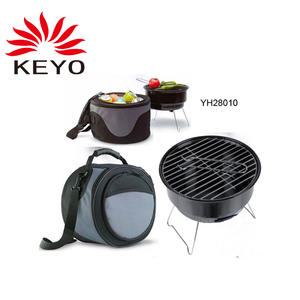 OEM Folding BBQ Grill Factory-YH28011-2 with ISO90010 Certification