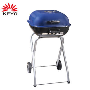 OEM Small Gas Barbecue Grill Factory-KY19018F Small Gas Barbecue Grill