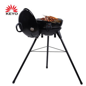OEM 20 Inch Luxury Electric Barbecue Grill 230V Outdoor Smokeless Electric Kettle BBQ Grills With CE Certification