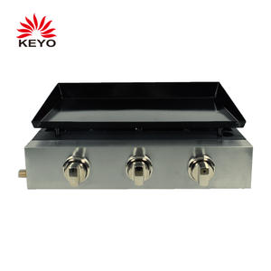 Custom KEYO 3 Burners Gas Plancha Grills suppliers