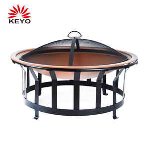 KY7347FP Fire Pit Combo BBQ Grill