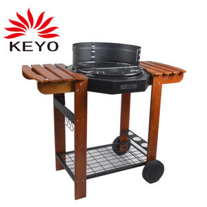 KY23020GI Trolley Charcoal Grill