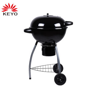 Trolley kettle charcoal grill