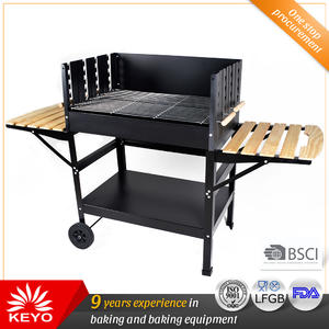 Custom Charcoal Trolley Grills factory