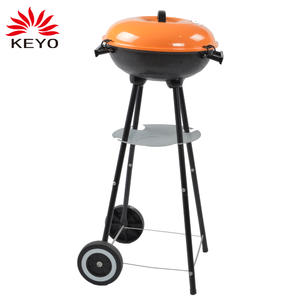 Outdoor Charcoal Kettle Grill