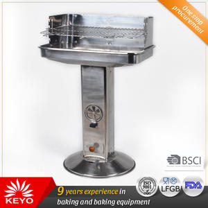 OEM KEYO Stainless Steel Standing Pedestal BBQ Grills manufacturers