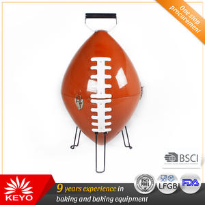 Custom KEYO US Football BBQ Grills suppliers