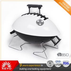 KY28015A Portable Football Barbecue Grill