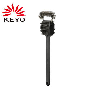 3 In 1 Grill Tools Brush BBQ Cleaning Brush