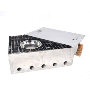 KY4432SB Stainless Steel Smoking Box