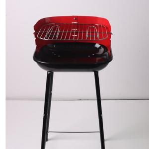 YH19014F Square Charcoal Grill with wind Shield
