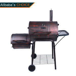 OEM Trolley BBQ Grill Factory-KY4524D with ISO90010 Certification