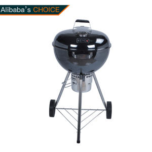 KY22018G18 Easy Assembly 18inck Kettle Grill with Ash Catcher
