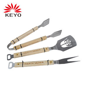OEM KY4103 bbq grill tool set factory