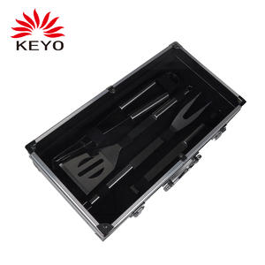 KY9055AZ Barbecue tool set outdoor portable charcoal bbq tool set