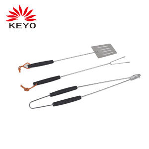 KY37-3PS Outdoor Camping Portable Barbecue Fork