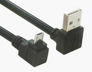Right Angle USB Micro B Cable | Wholesale & From China