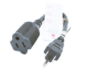 5-15P To 5-15R Extension Power Cord