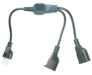 America/Canada 2 in 1 Power Cord | Wholesale & From China