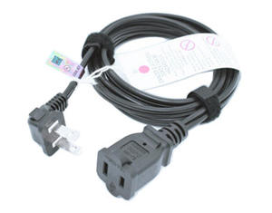 NEMA 1-15P To 1-15R Extension Cable