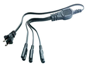America/Canada 3 in 1 Power Cord | Wholesale & From China