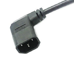 Right Angle IEC C14 Power Cord