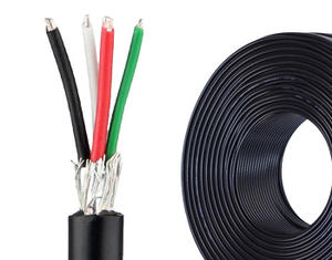 Coiled UL2725 USB 2.0 Cable
