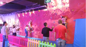Indoor climbing base