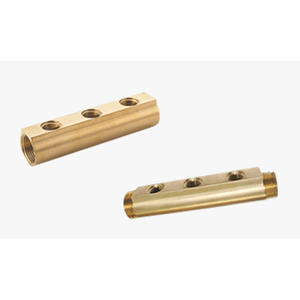 Brass Bar Manifolds Pipe - FS