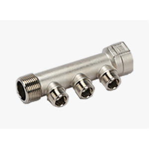 Customized Brass linear manifold plumbing - FS3 Supply
