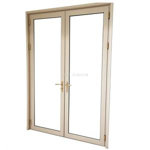 Hot sale aluminum frame glass door manufacturing