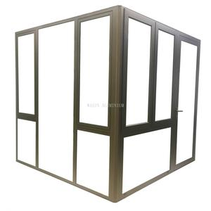 High quality aluminum top hung window manufacturer