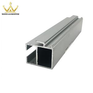 Silver Matt Aluminium Profiles For Window